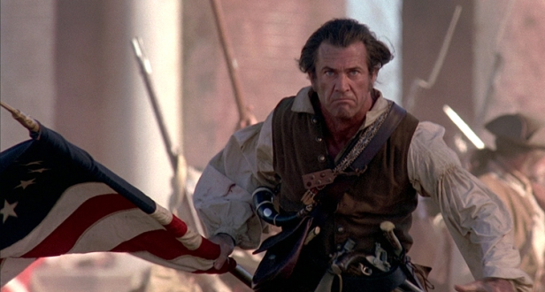 The-Patriot-mel-gibson-charge-flag