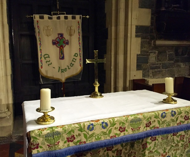 table in Christ Church Cathedral